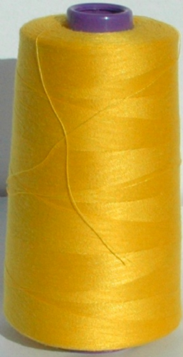 Sewing Machine & Overlocker Thread - 5,000m Cones BLB05 Yellow Shade 131